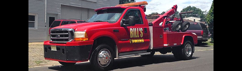 Bill's Towing - Mercer County NJ Towing
